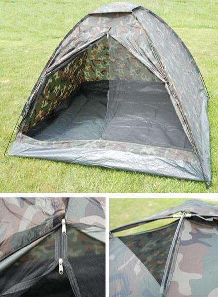 Tent camouflage 4 persoons