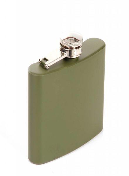 Zakfles 4 ounce groen