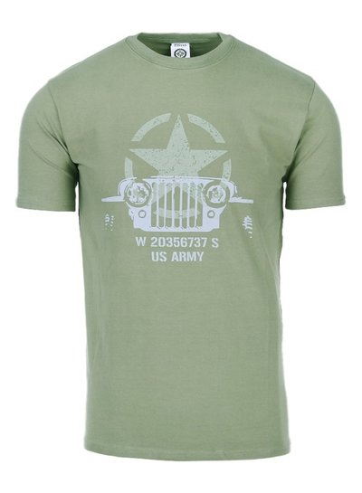 T-shirt Allied Star - Willy jeep