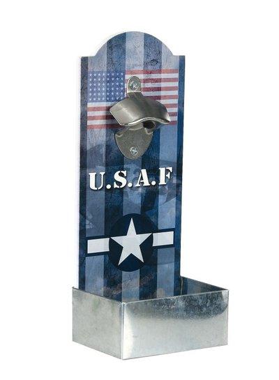 Flesopener muur U.S.A.F.