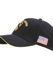 Baseball cap US Cavalry WWII 3D zwart