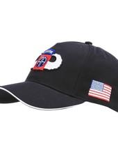 Baseball cap 82nd Airborne WWII 3D zwart