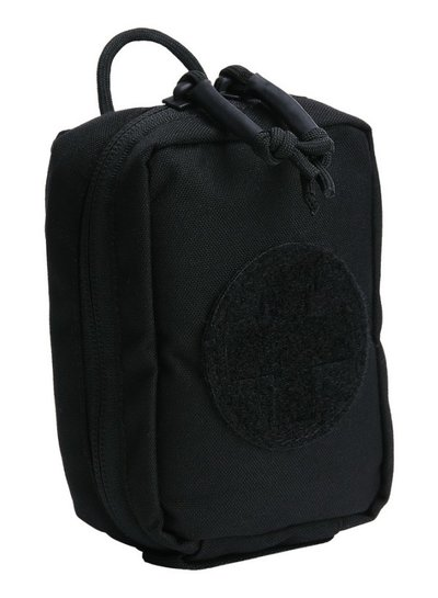 TF-2215 Medic pouch small hook and loop #14 Zwart