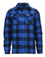 Houthakkers hemd dik Blauw