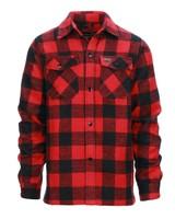 Houthakkers hemd dik Rood