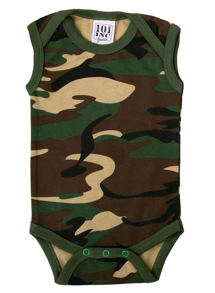 Camouflage Baby romper
