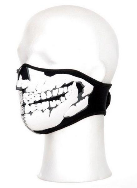 Gezichts masker neopreen skull 3D