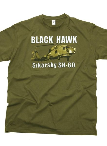 T-shirt Black Hawk Sikorsky SH-60