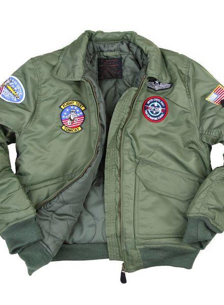 Kinder CWU flight jacket