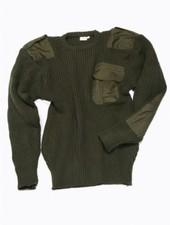 Commando trui 100% Acryl groen