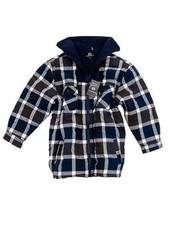 Thermo Overhemd Fleece kraag met Fleece voering