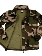 Soft shell jack tactical French camo
