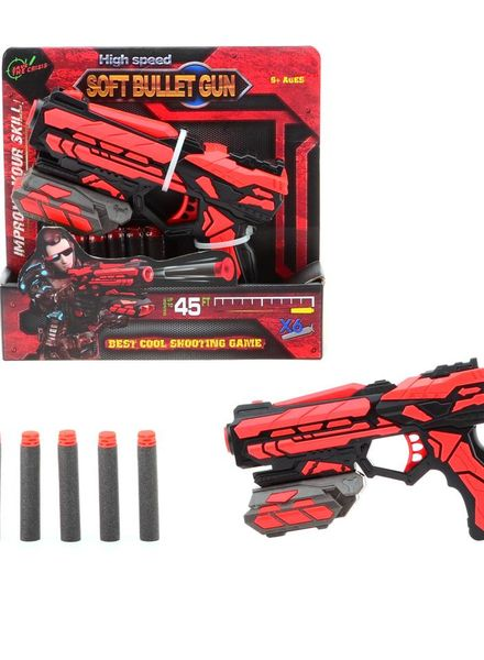 Serve & Protect shooter starter 18cm + 6 pijlen #67