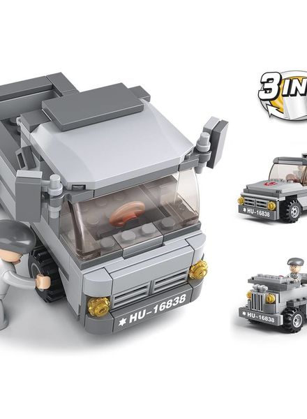Sluban Troop Transporter 3-IN-1