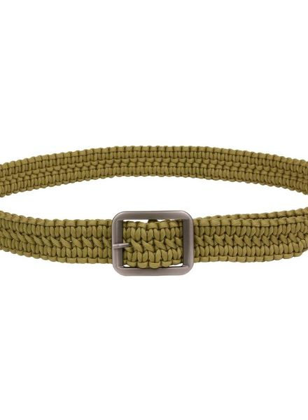 Paracord riem coyote