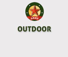 Army & zaklampen