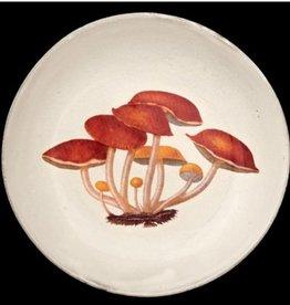 Astier de Villatte John Derian Deep Plate - Agaric Amer