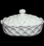 Astier de Villatte Butter Dish - Cube
