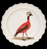Astier de Villatte John Derian Plate - Red Peruvian Hen