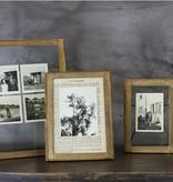 Nkuku Standing Photo Frame - Brass