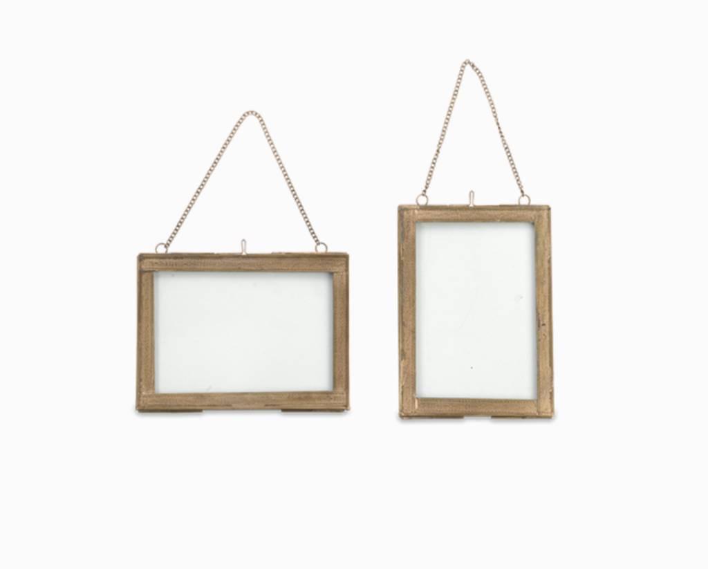 Nkuku Photo Frame - Brass