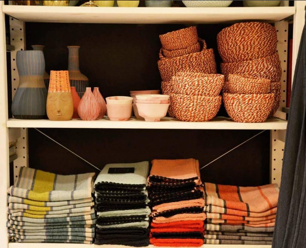 Harmony Tea Towel Linen - Granite