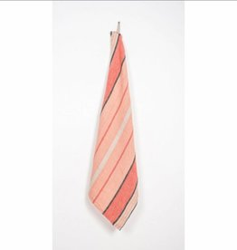 Harmony Tea Towel Linen - Peach