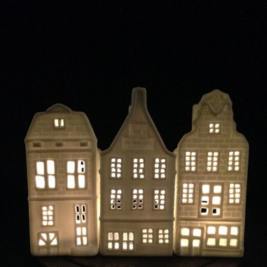 &K Tea Light Holder Canal House - Stairs