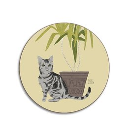 Avenida Home Coaster - Cats Tabby