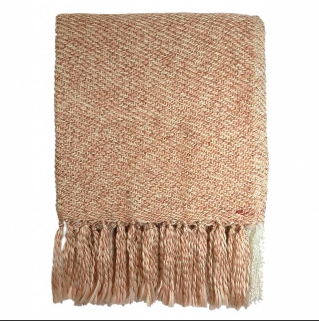 Malagoon Plaid - Soft Pink Melee