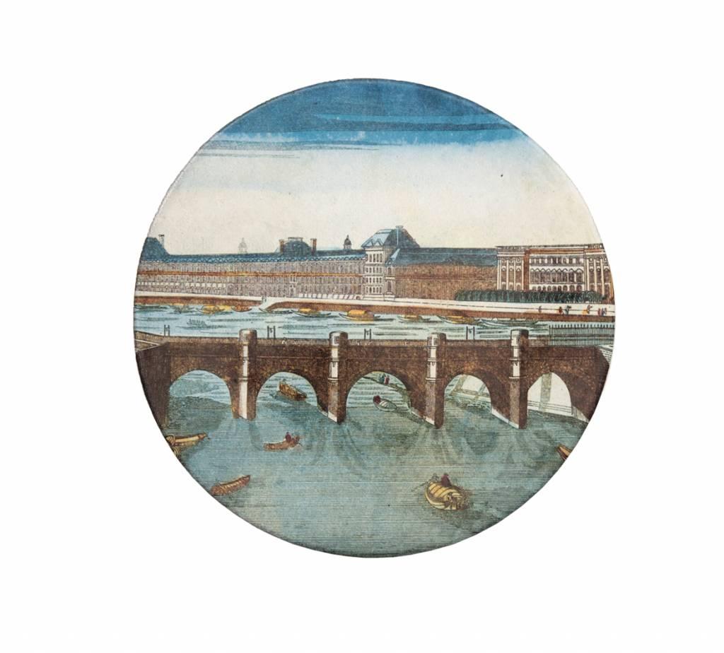 Astier de Villatte John Derian Plate - Pont St Michel