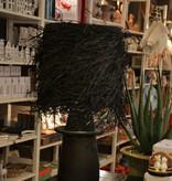 Lamp Raffia - Zwart