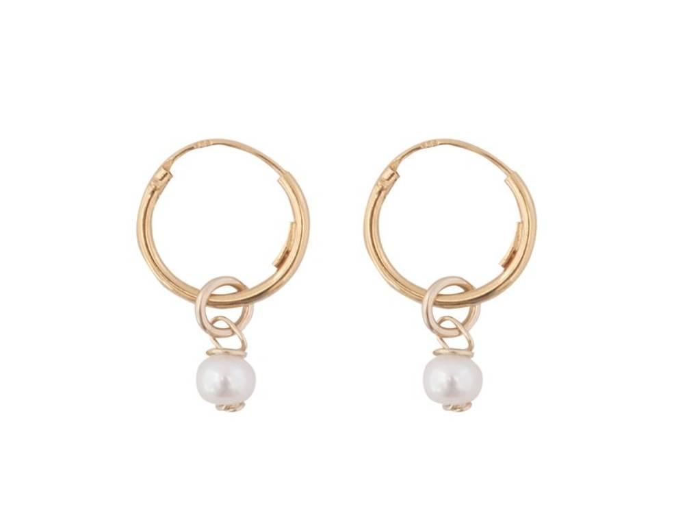 Bobby Rose Earring - Pearl