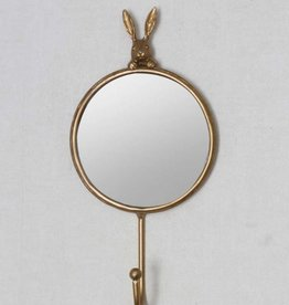 Mirror with Hook - Rabbit