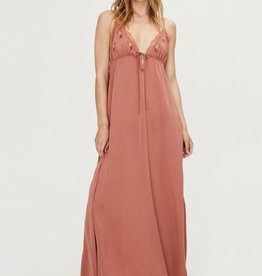 Love Stories Julietta Slip Dress - Cinnamon