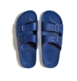 Freedom Moses Slippers - Navy (Kids)