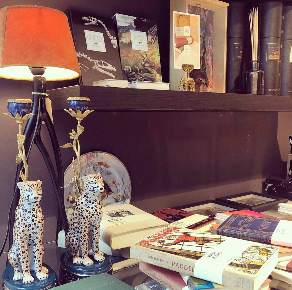 &K Candle Holder - Leopard