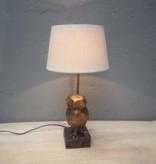 Lamp base - Owl