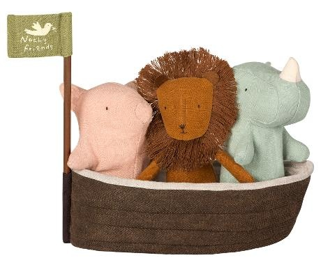 Maileg Cuddle Toy Noah's Friends - Pig