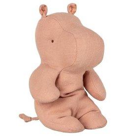 Maileg Cuddle Toy Safari Friends - Hippo Pink