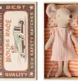 Maileg Mouse in Matchbox - Big Sister in Pajamas