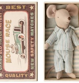 Maileg Mouse in Matchbox - Big Brother in Pajamas