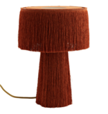 Madam Stolz Table lamp Fringe - Orange