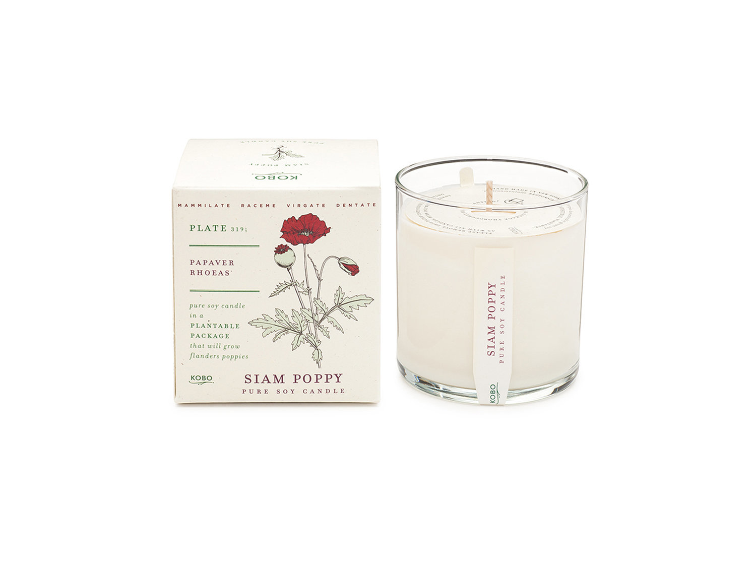 Kobo Scented candle - Poppy