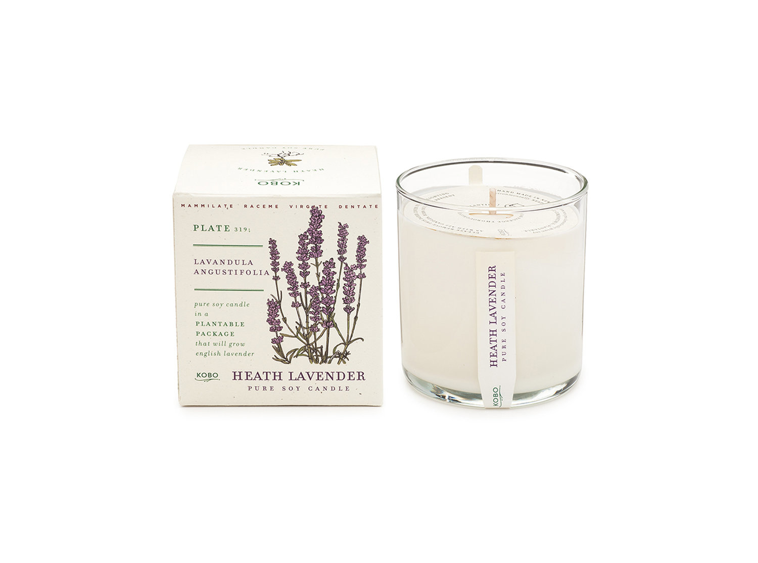 Kobo Scented candle - Lavender