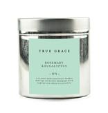 True Grace Geurkaars in Blikje - Rozemarijn & Eucalyptus