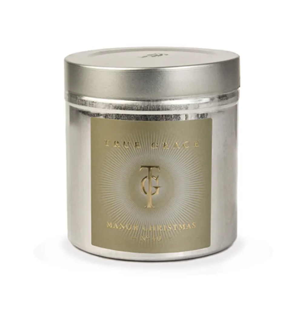 True Grace Walled Garden Candle in Tin (no. 40) - Christmas