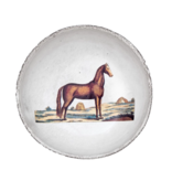 Astier de Villatte John Derian Schaaltje - Bruin Paard