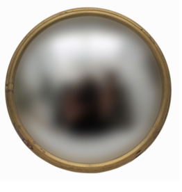 Convex Mirror - Gold