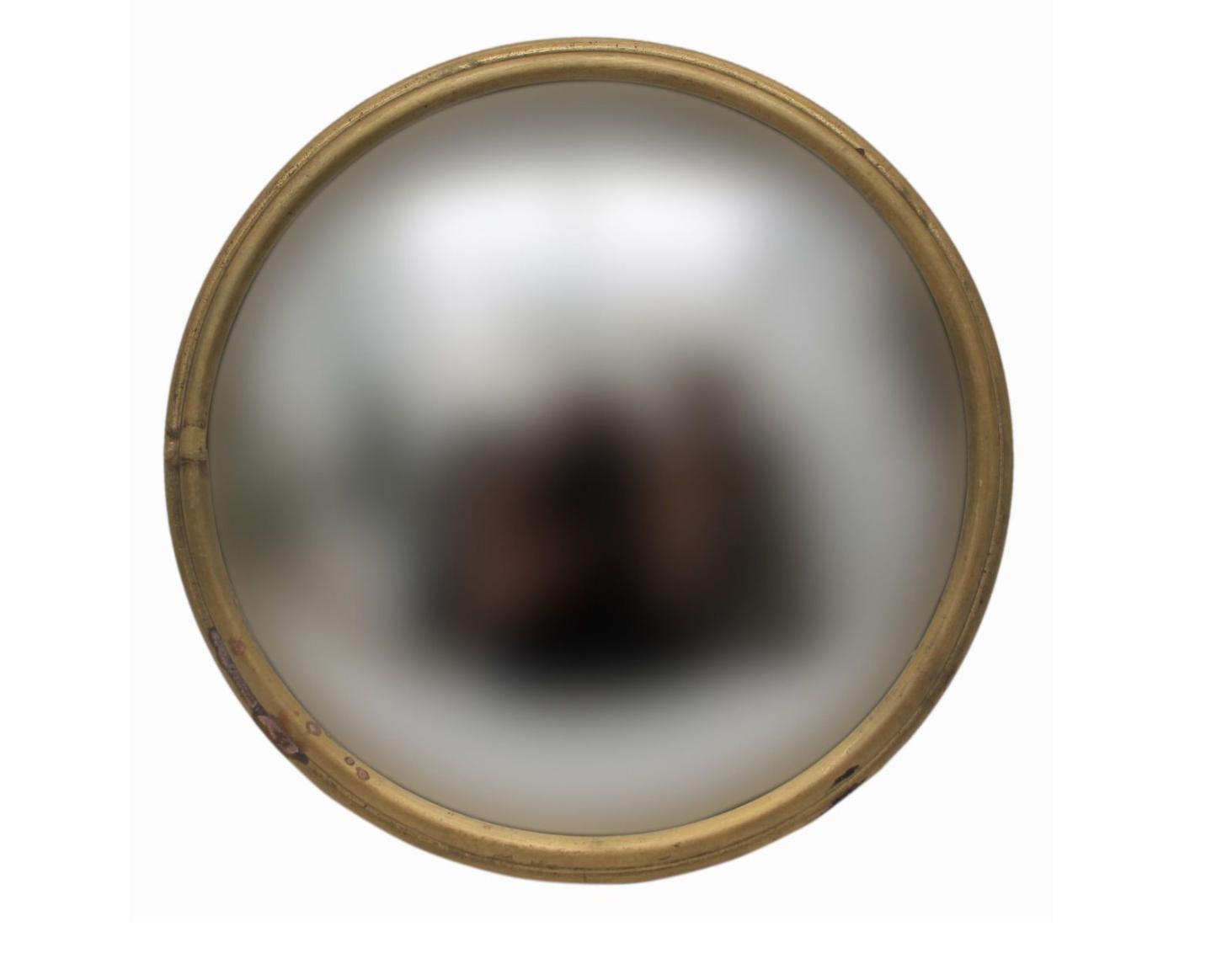 Convex Mirror - Gold